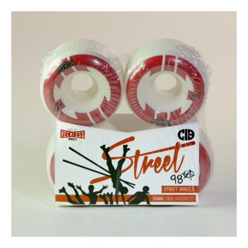 CIB Crew Street Wheels 55mm 98A
