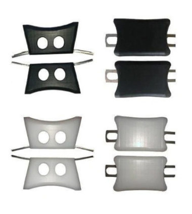 DiscoBlox Slide Blocks Standard 40mm White