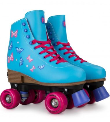 Rookie Blossom Blue - Adjustable Skate