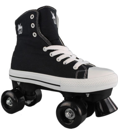 Rookie Roller Skate High Black Canvas