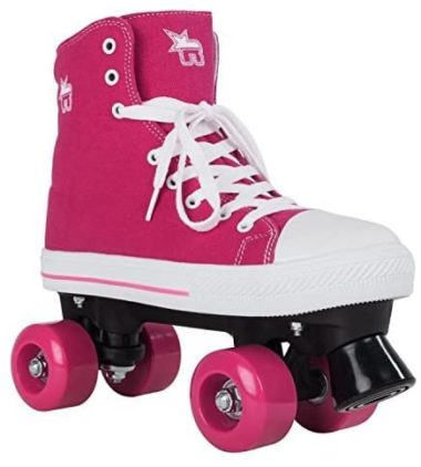 Rookie Roller Skate High Pink Canvas