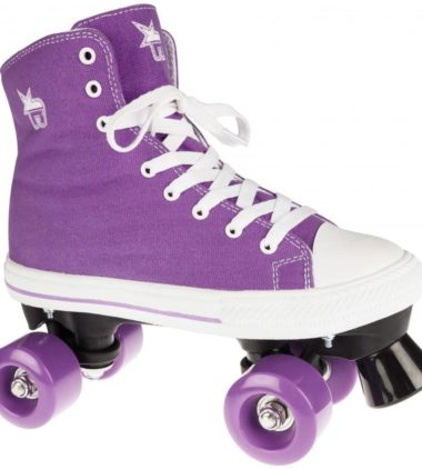 Rookie Roller Skate High Purple Canvas