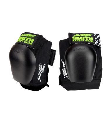 Smith Scabs Derby Knee Pads - Black w/Black Cap