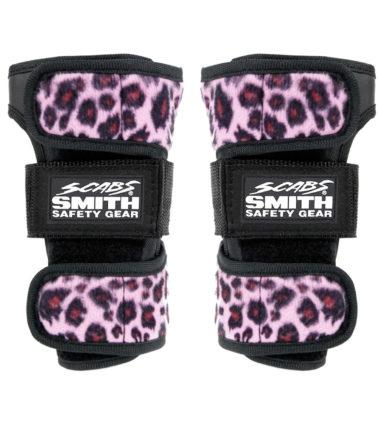 Scabs Wristguard - Leopard Pink